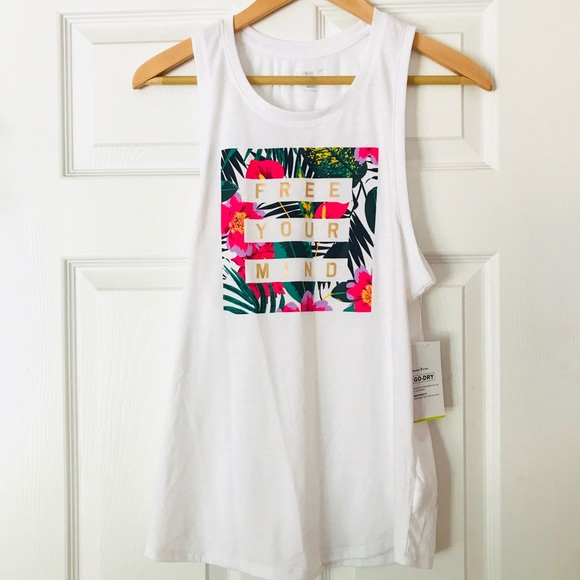 400f7f418a298e Free Your Mind Tank Top
